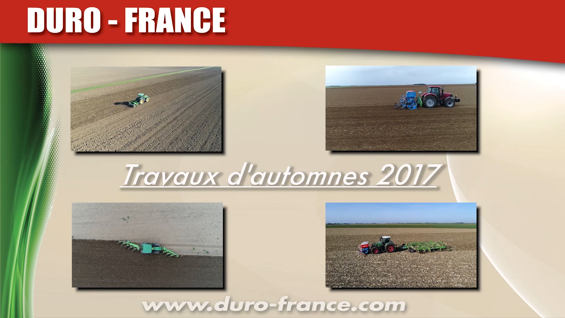 Video Travaux d'automnes 2017